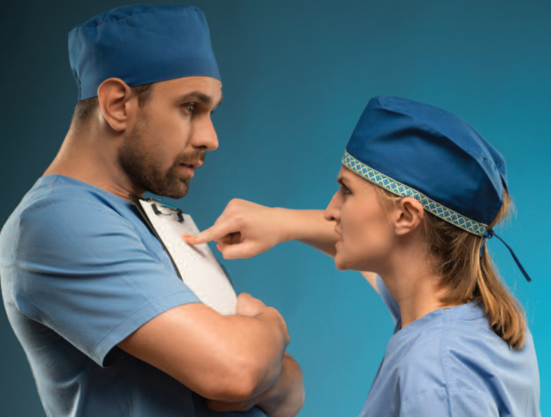The 4 Essential Steps to Address Disruptive Physician Behavior